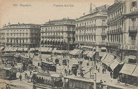 Exposici n postales for Libreria puerta del sol